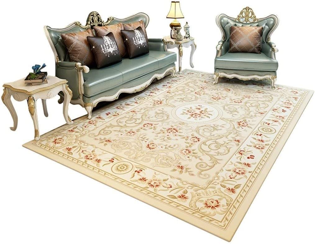 Size : 160230cm European Carpet Flannel Carpet Living Room Floor Carpet Childrens Game Pad Bed Blanket Bedroom Bedroom Home Door Mat