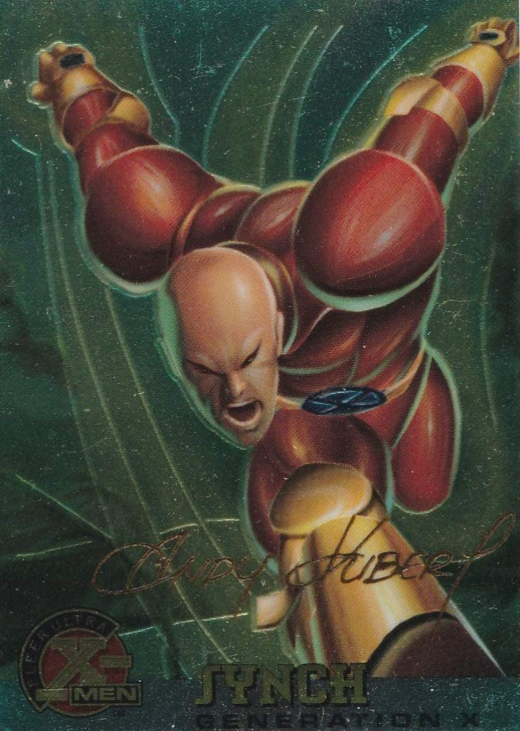 Details about  /1995 FLEER ULTRA CHROME X-MEN # 37 SYNCH