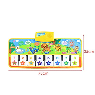 Elevin(TM)???????? New to uch Keyboard Music Singing Gym Carpet Mat Best Children Baby Gifts: Toys & Games