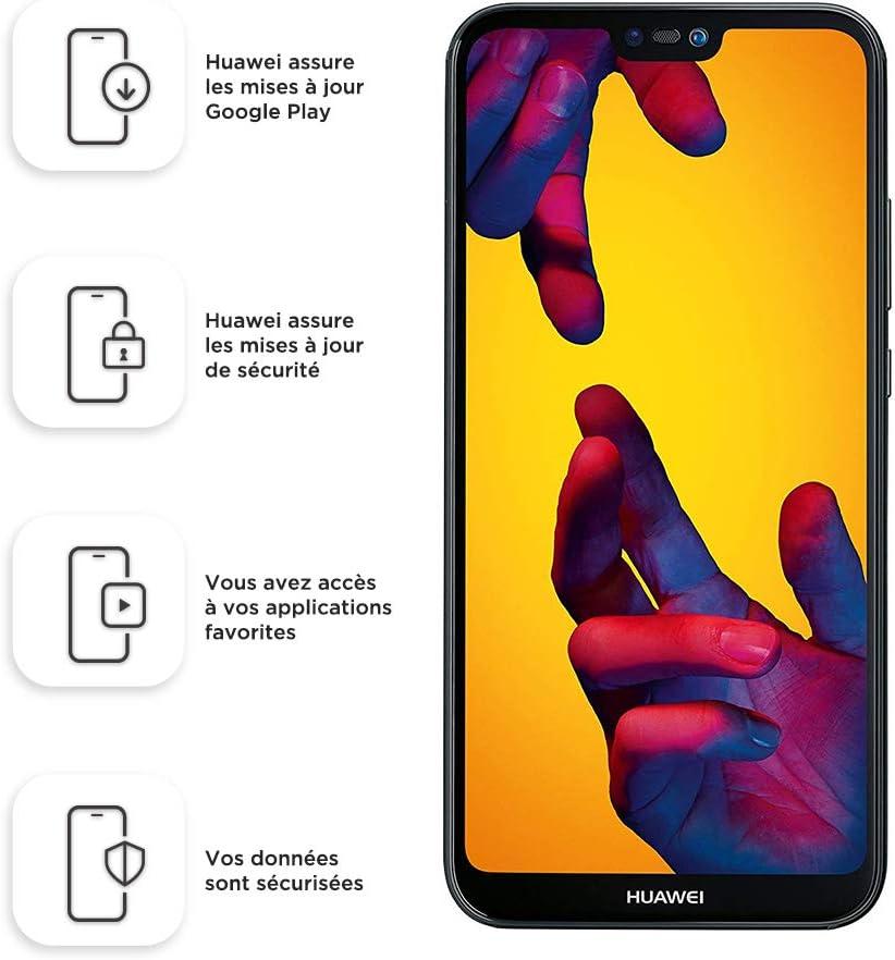 Huawei P20 Lite 64 GB/4 GB Dual SIM Smartphone - Midnight Black (West European Version)