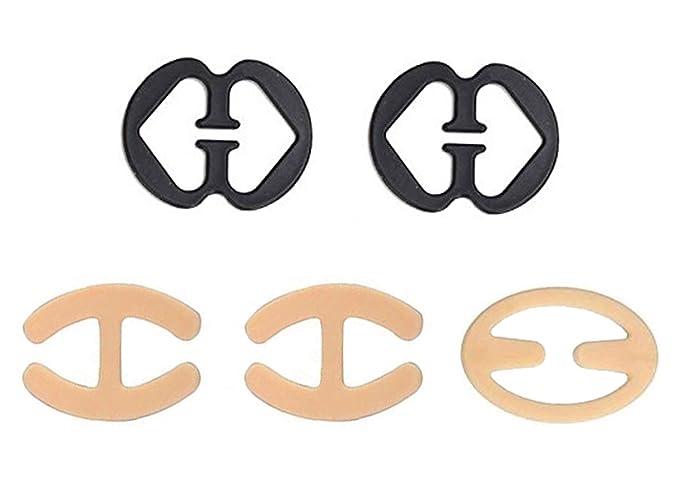 CuOmix Clips para Tirantes de Sujetador Bra Straps Sujeta 5 Pieazas: Amazon.es: Ropa y accesorios