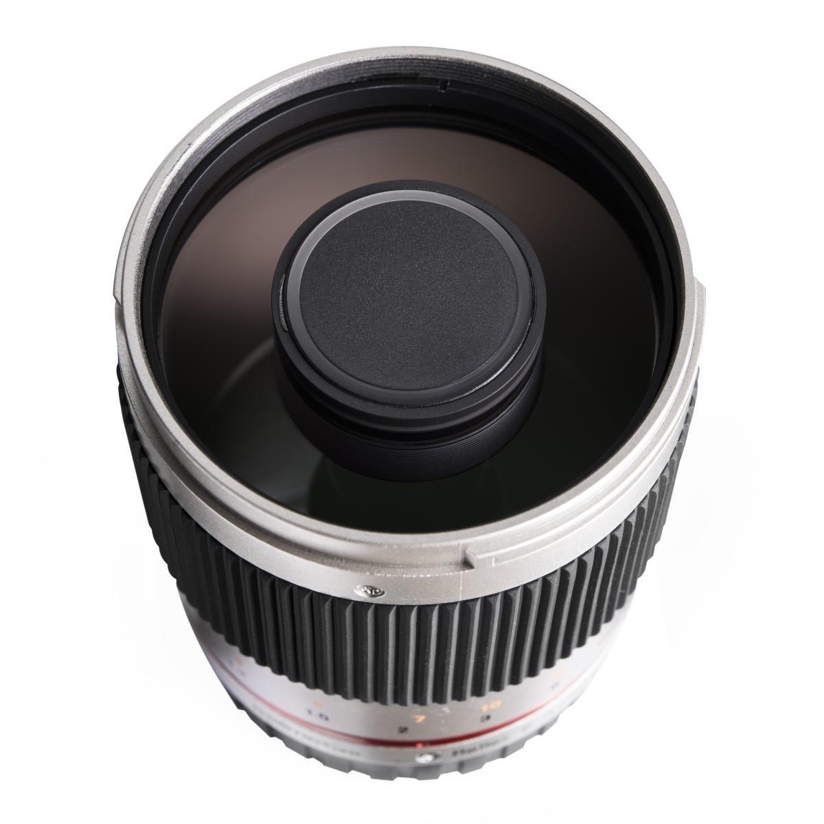 SLR, 9//9, telephoto, 64.5 mm, 73 mm, 311 g Walimex 19729 Lente de c/ámara Objetivo