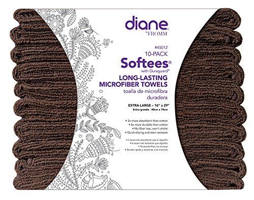 Softees Towels Duraguard Chocolate 10pk