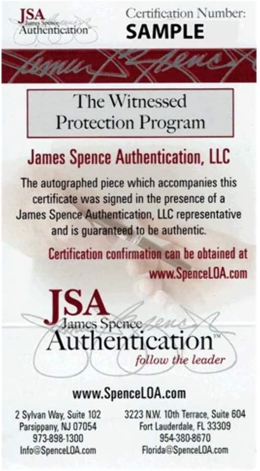Autographed and JSA Authenticated Full Size Speed Replica Joe Montana Signed San Francisco 49ers Football Helmet