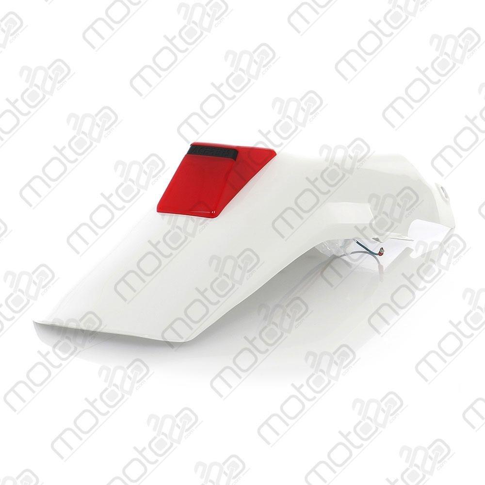 PARAFANGO POSTERIORE HON XR 600R 95-99 BIANCO ACERBIS
