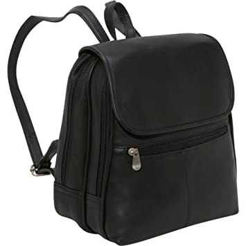 9e434bddb6ee Amazon.com  Le Donne Leather Everything Women s Backpack Purse