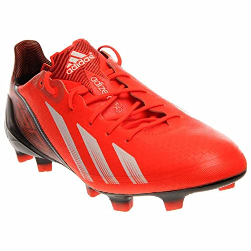 sports shoes 10ec4 a941e adidas F50 Adizero TRX FG Messi Synthetic Q33848 Infra Red White Black  Soccer Men s