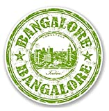 Bangalore India Vinyl SELF ADHESIVE STICKER Decal - Sticker Graphic - Auto, Wall, Laptop, Cell, Truck Sticker for Windows, Cars, Trucks