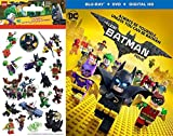 Lego Stickers The Batman Movie - Blu Ray + DVD Animated Lego 2-Pack 4 sticker sheets Set