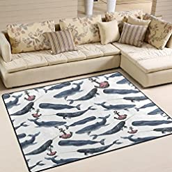 61k0XYTAVPL._SS247_ Whale Rugs and Whale Area Rugs