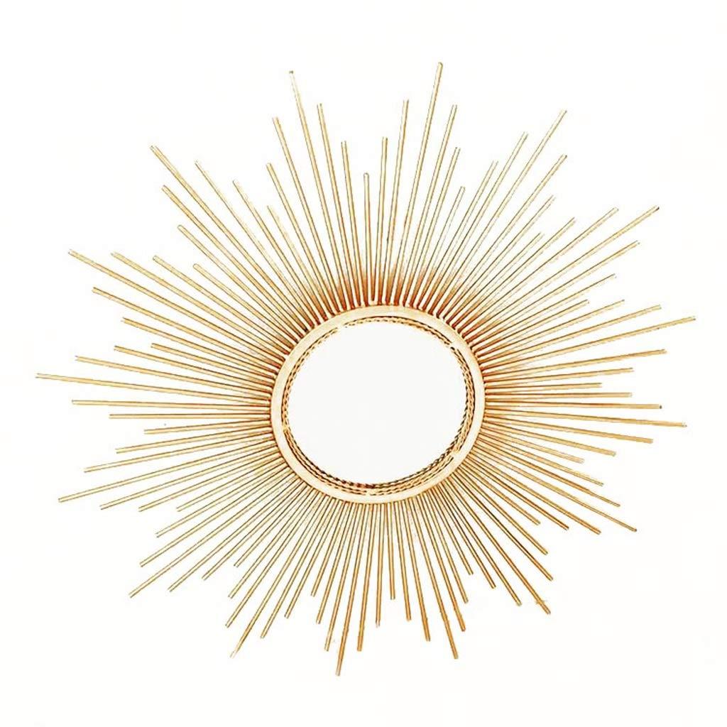 Ren Chang Jia Shi Pin Firm Wandspiegel Spiegel Eisen Wand hängenden Spiegel Badezimmer Spiegel Eingangsspiegel Sonne Dekoration Spiegel