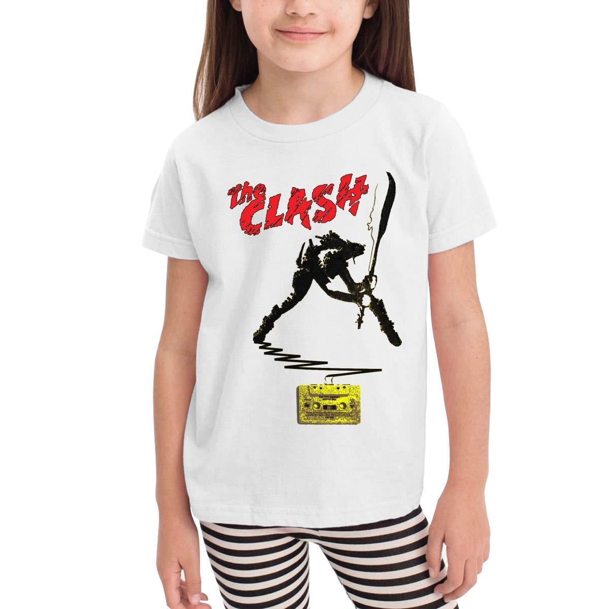 Yountee The Clash Girls Classic Tshirt 2292