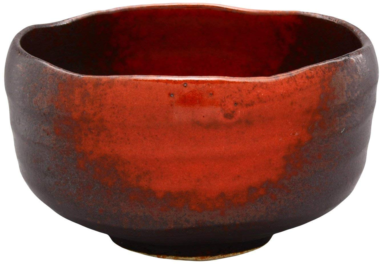 MINO Ware Matcha Bowl Red Blow