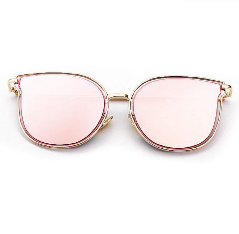 Das Auge Des Neuen Katze Brille Frau Fashion Großen Rahmen Sonnenbrillen Metall,A1