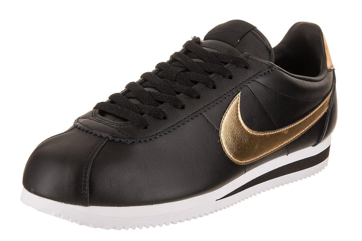huge selection of ba153 630bd Amazon.com   Nike Classic Cortez SE Black   Road Running