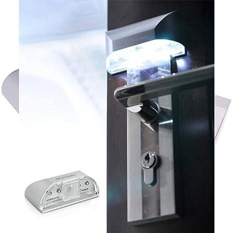 Lámpara Luz 4 LED PIR Detector Sensor Movimiento Automático Puertas M-LD018 por Xcellent Global