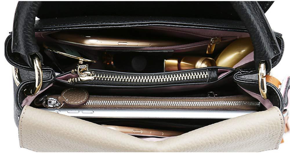 8ea531453716e ... Umhängetaschen Damen Tasche Mode Leder Leder Leder Farbig Hand Slant  Einzel Umhängetasche Karamell Farbe B07P8R7GJP Umhngetaschen