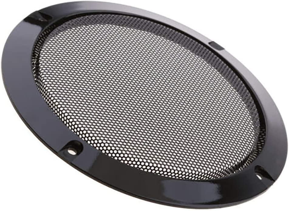 "1p 2/""-10/"" inch Speaker Cover Subwoofer Audio Decorative Circle Metal Mesh Grille"