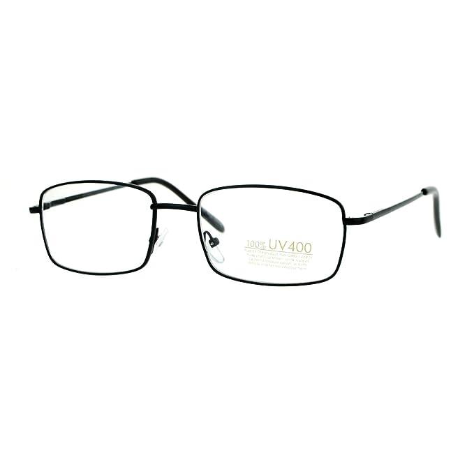 Amazon.com: Pequeño marco anteojos fina anteojos de moda ...
