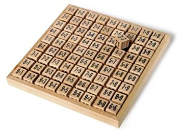 Amazon.com: Small Multiplication Tables Board: Toys & Games