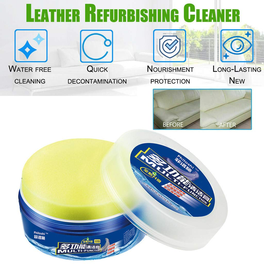 Love Letters ♡ Multi-Surface Cleaner Multifunctional Magic Cleaner Leather Refurbishing Cleaner Cleaning Cream Repair Tool Cream for Glass Leather Furniture Metal Floor
