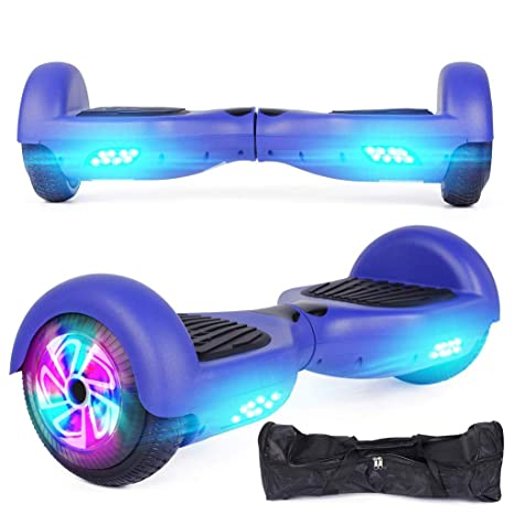 Hoverboards Mode Smart Mini patinete con luz LED eléctrico ...