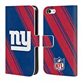 5c phone cases new york giants - Official NFL Stripes 2017/18 New York Giants Leather Book Wallet Case Cover For Apple iPhone 5c