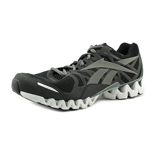 d9b42c76b5c ... purchase reebok men zig tech 3.0ex black grey steel running shoe 10.5 m  us 823c7