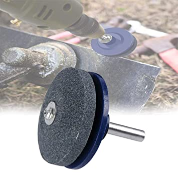 Afilador de cortacésped abrasivo para taladro eléctrico, taladro ...