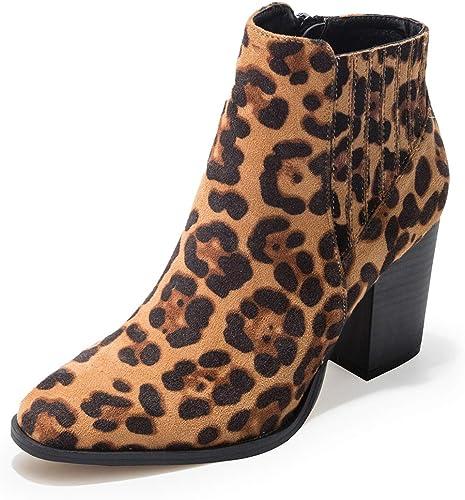 fereshte Women's Ankle Booties Block