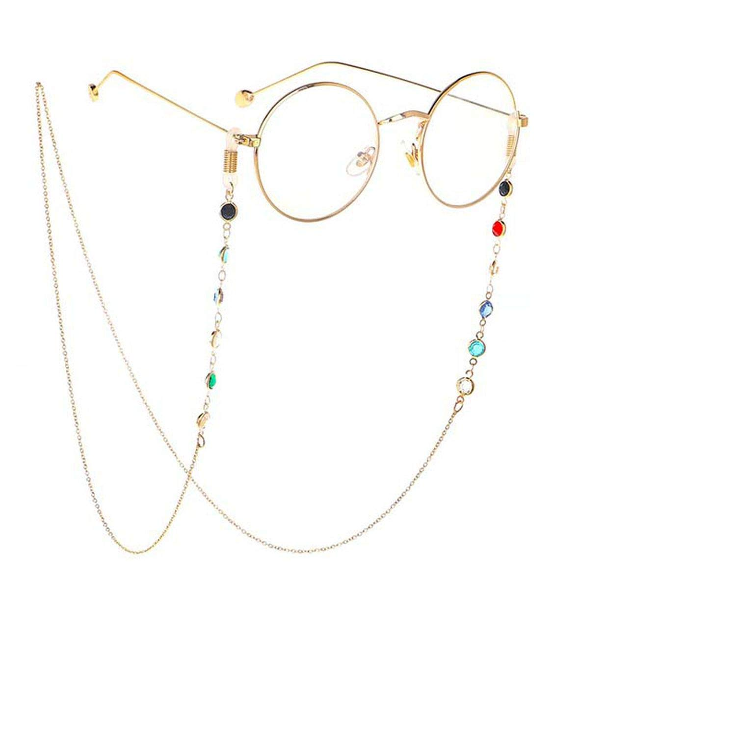 Beads Glasses Necklace  Glasses Chain Eyeglass Lanyard  Eye wear Accessories