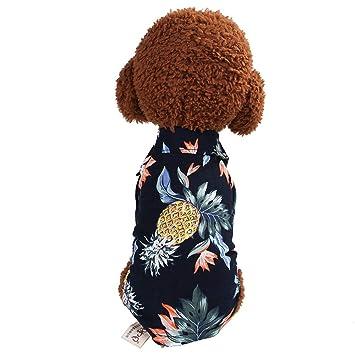 Wankd Disfraz de piña para Perro,Piña Traje de Perro Ropa de ...