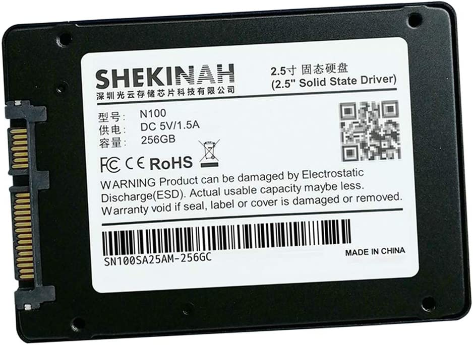 D DOLITY 256 g Interfaz SATA III SSD Solid State Drive MLC Flash ...