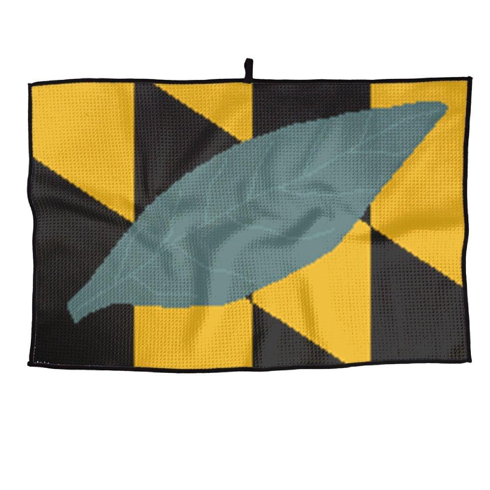 ゲームLife Maryland State Flag Personalizedゴルフタオルマイクロファイバースポーツタオル   B07FC6RKCH