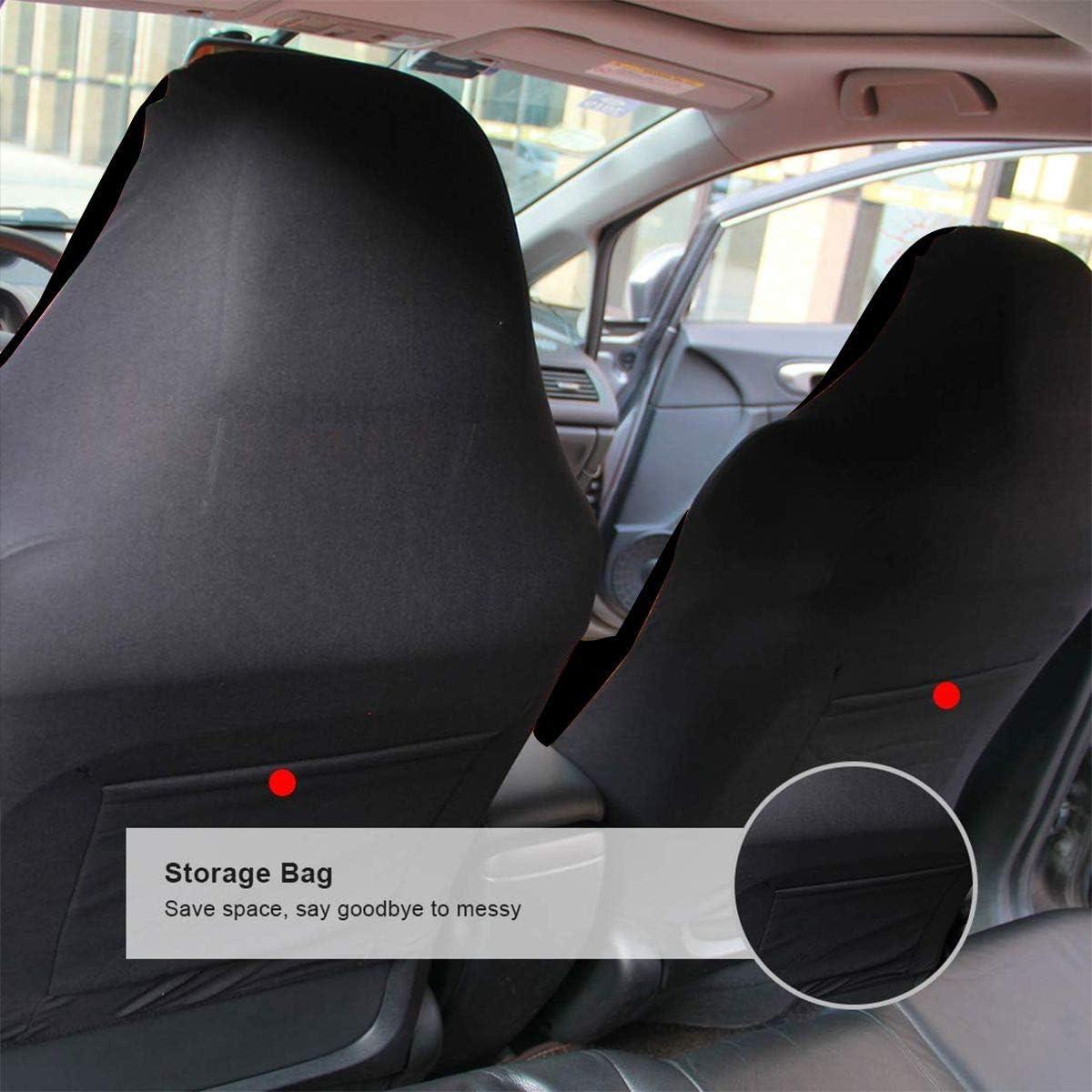 JOPI Rottweiler Cute Logo Universal Waterproof Car Seat Cover,Fit Most Car,Truck,SUV,or Van