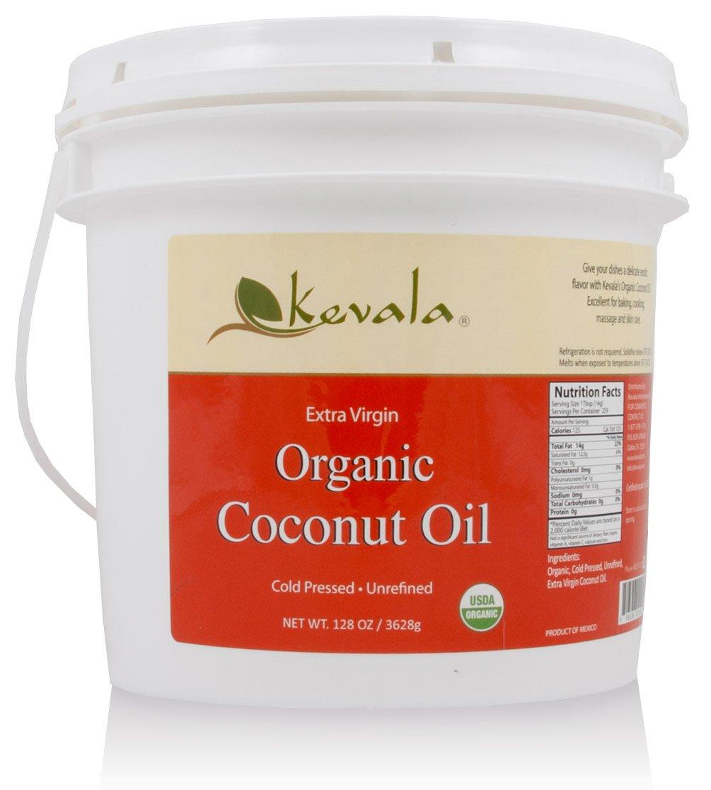 Kevala Organic Coconut Oil, 8 Pound by Kevala (Image #1)