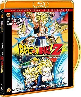 Pack Dragon Ball Z-¡La Derrota Del Super Guerrero! La Victoria Será Mía+ ¡El Renacimiento De La Fusión! Goku Y Vegeta Blu-ray: Amazon.es: Animación, Daisuke Nishio, Animación: Cine y Series TV