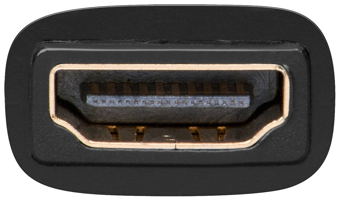 Adaptador HDMI//DVI-D 19 pines, hembra HDMI a hembra DVI Wentronic