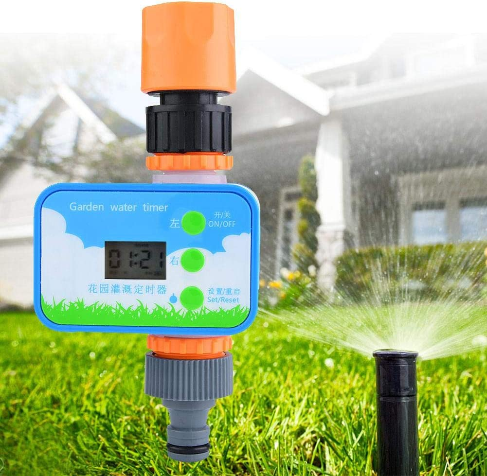 Water Timer Asixx Watering Timer Automatic Water Timer Garden Irrigation Timer Electronic Water Timer Watering Timer Lawn Watering Timer Auto Water Timer