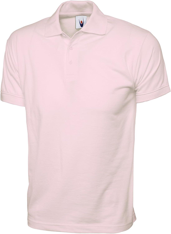 Uneek clothing - Polo - para hombre Rosa rosa XXXL: Amazon.es ...