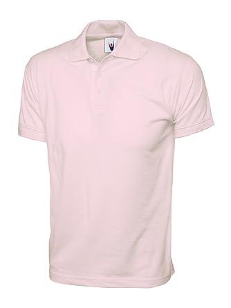 Uneek clothing - Polo - para hombre Rosa rosa XS: Amazon.es: Ropa ...
