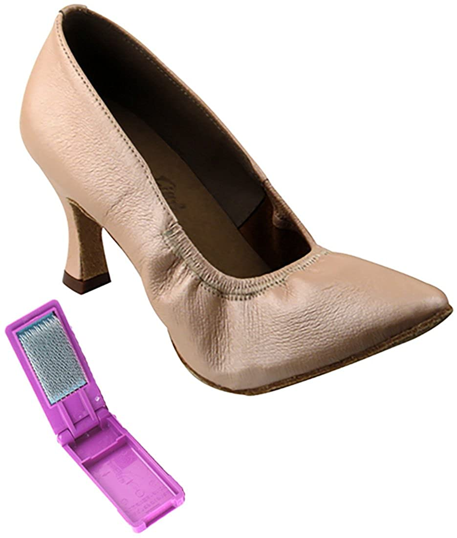 [Very Fine Dance Shoes] レディース B0746TPBYL Light Tan-light Leather 6 B(M) US