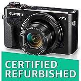 (CERTIFIED REFURBISHED) Canon PowerShot G7 X Mark II