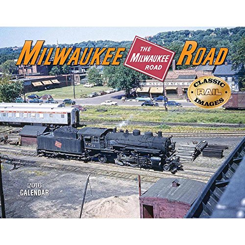 UPC 733640900637, Milwaukee Road Deluxe Wall Calendar by Tide-mark