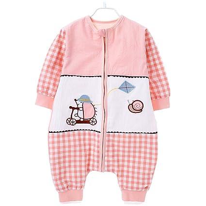 JXWANG Recién Nacido Bebé Swaddle 100% Algodón De Color Natural Saco De Dormir para Niños