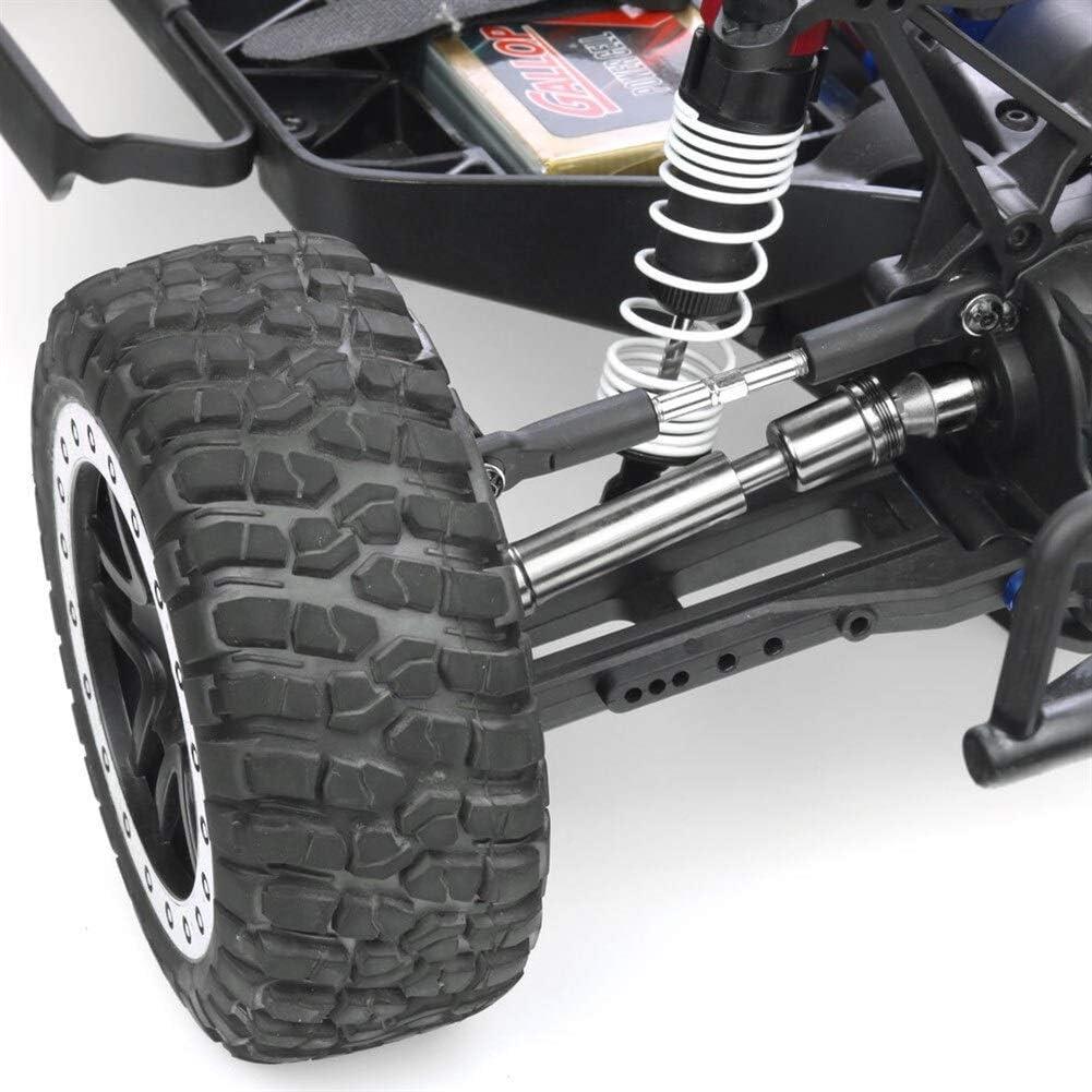 BLTR Alta qualit/à Acciaio Anteriore Posteriore Motore Gruppo Albero Resistente for 1//10 RC Slash 4x4 Stampede 2WD 6851R 6851X 6852X 6852R Facile Color : Rear
