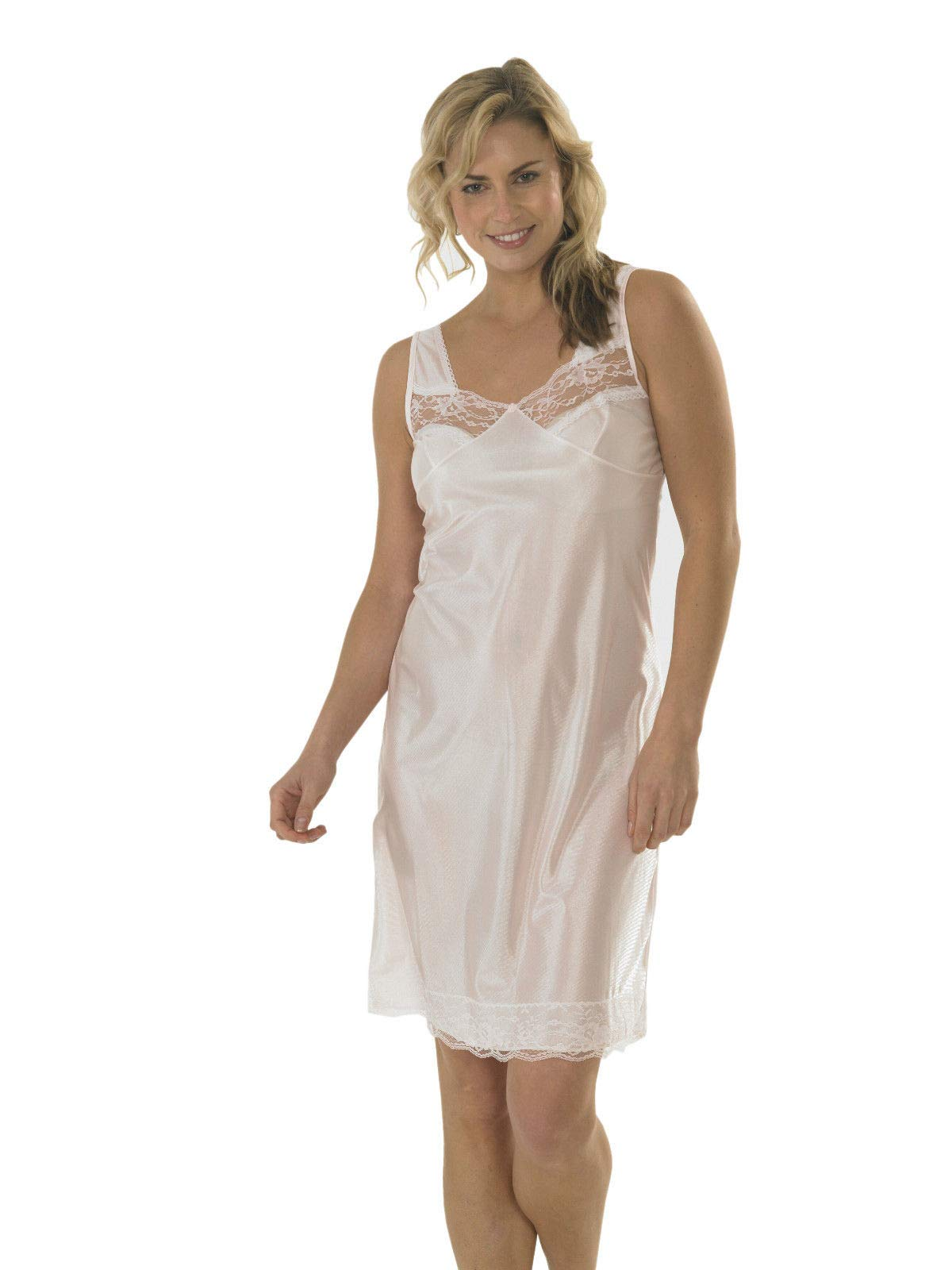 Ladies black size 12 petticoat slip underskirt anti static cling resistant M /& S