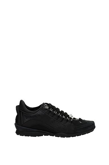 Leder 551 Schwarz Dsquared2 Herrenschuhe Herren Schuhe Sneakers kXuOiTPZ