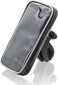 Xventure Xtreme Case XL Bike Handlebar Weatherproof Water Resistant Clamp Mount for Smartphones iPhone X 8 Plus 7 SE 6s 6 5s 5 Samsung Galaxy S9 S8 S7 S6 S5 Note Google Pixel 2 XL LG Nexus Sony Nokia