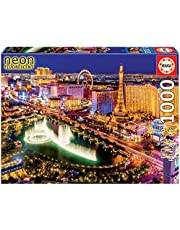 Educa - Las Vegas 1000 Teile Nachtleuchtpuzzle
